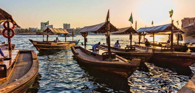أنشطة سياحية شائعة في خور دبي