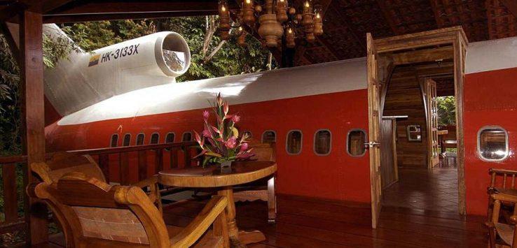 بالصور : طائرات تحولت الى فنادق