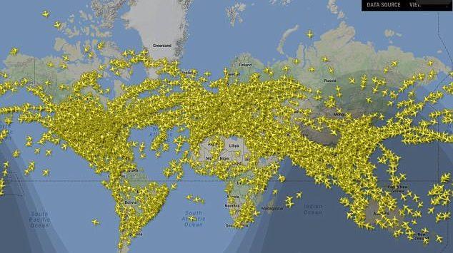 رقم قياسي جديد لعدد الرحلات الجوية في يوم واحد حول العالم