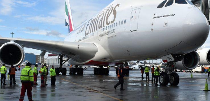 تقارير تتحدث عن إستحواذ شركة طيران الامارات على الاتحاد للطيران