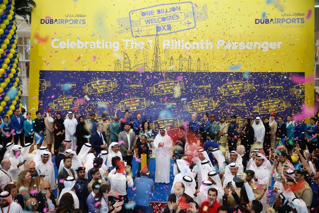 رسمياً : المسافر رقم مليار يصل مطار دبي