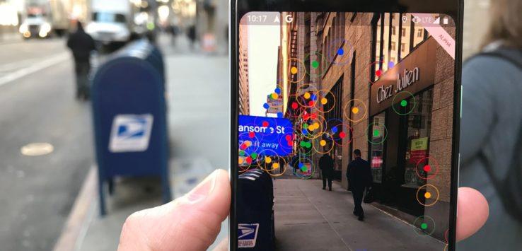 اضافة مهمة للسائح : جوجل تتيح تقنية الواقع المعزز في تطبيق الخرائط للمشاة