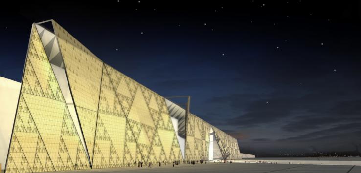 مليار دولار تكلفة المتحف المصري الجديد والافتتاح العام القادم