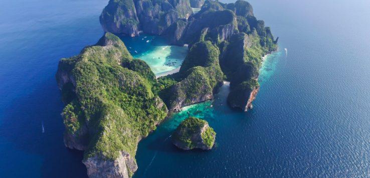 أشهر شواطيء تايلاند مغلق حتى 2021