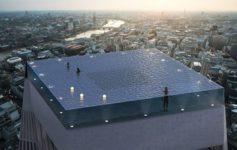 مسبح في لندن باطلالة 360 درجة