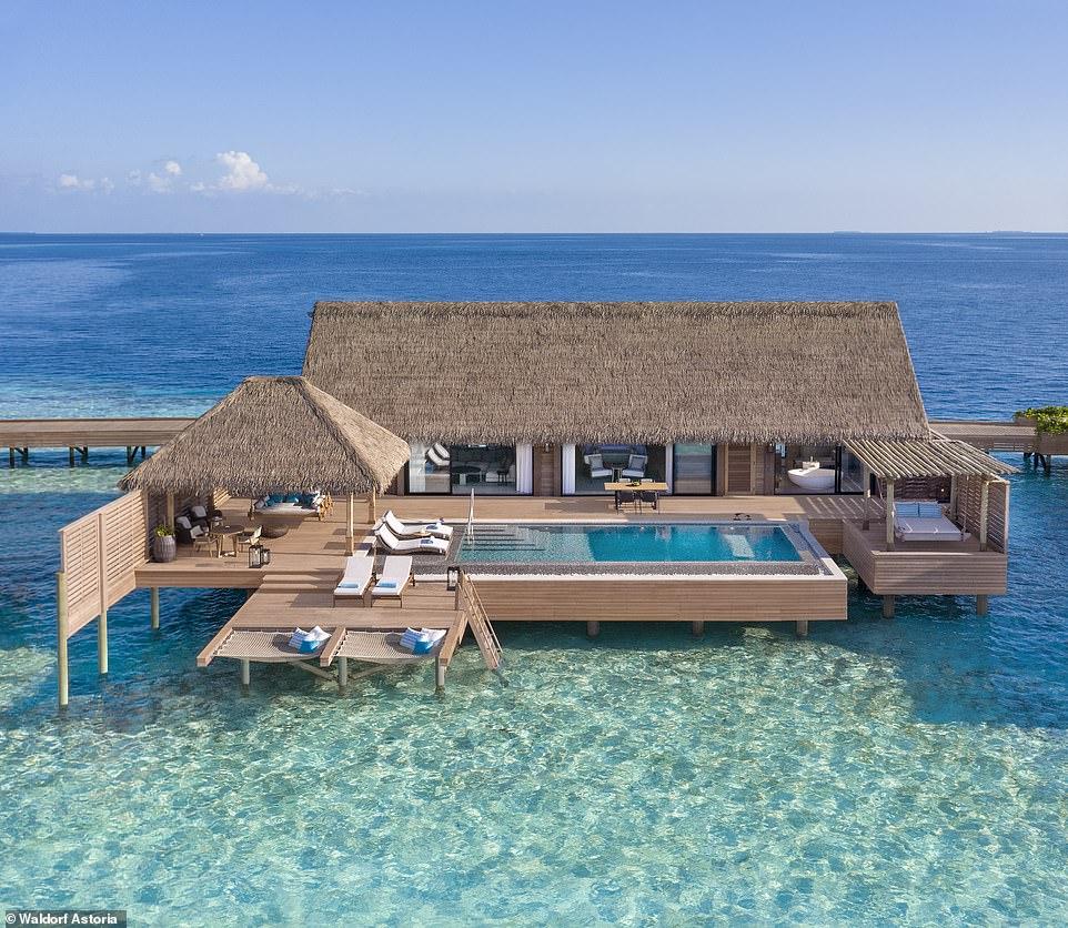 بالصور منتجعات المالديف السياحية تنتقل الى مستوى جديد من الرفاهية