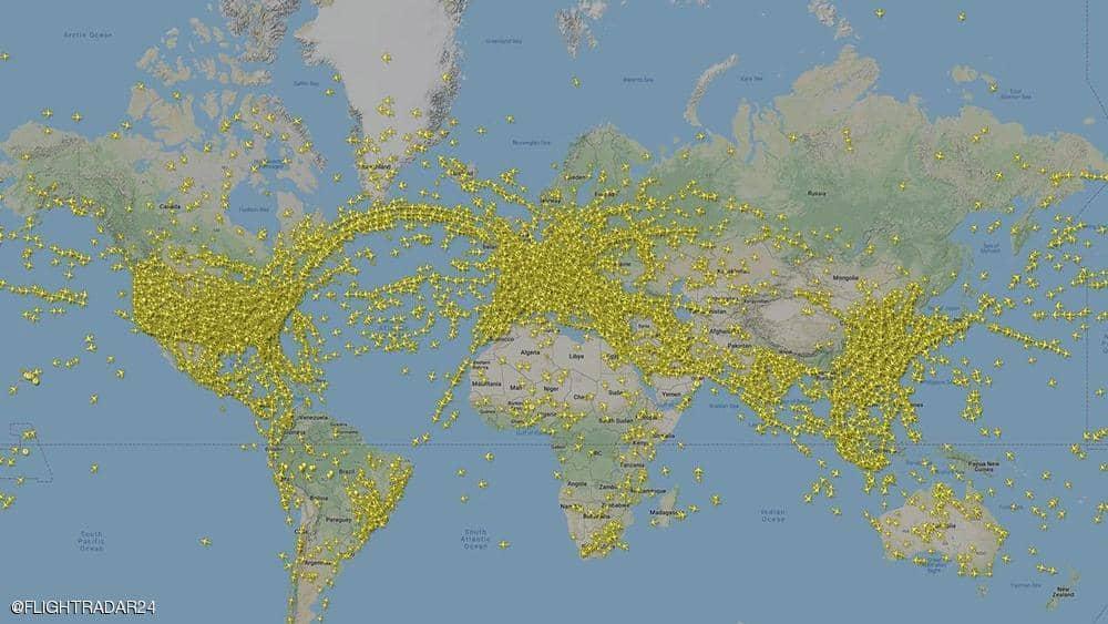 رقم قياسي جديد في سجل الطيران يسجل يوم الخميس 25 يوليو