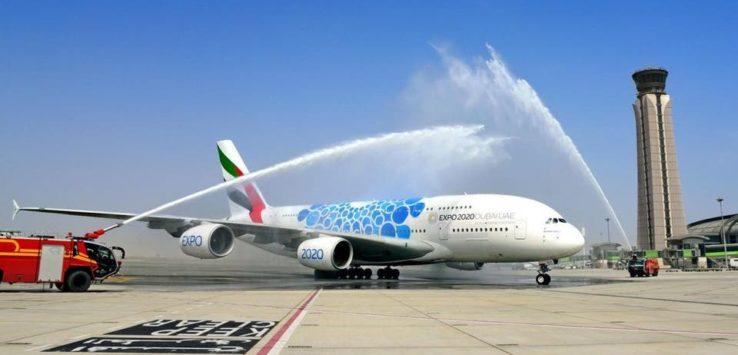 طيران الامارات تحطم رقم قياسي جديد