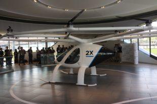 أول تاكسي طائر في العالم ينطلق من سنغافورة