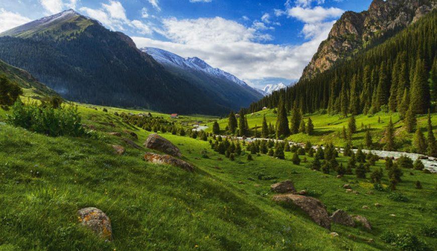 : كازاخستان وقيرغيزستان 5 نجوم رفاهية